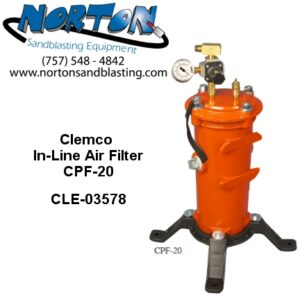 Clemco In-Line Air Filter