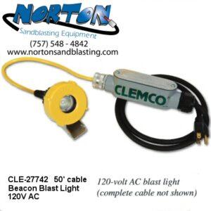 Clemco Beacon Blast Light 120V