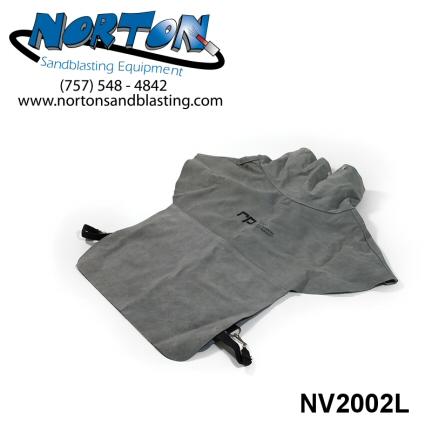 Leather Cape for Nova 2000 blast helmet