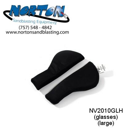 side padding for Nova 2000 helmet glasses wearers, size large