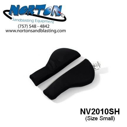 Side padding for Nova 2000 Blast hood, size small