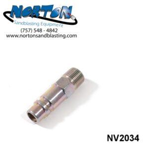 coupler, male threads for Nova 2000