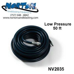 low pressure breathing air hose