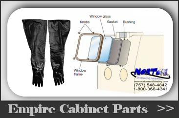 Empire Blast Cabinet Parts