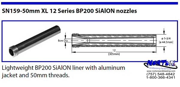 Venturi nozzle, special XL 50mm