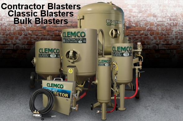 Clemco blast machines